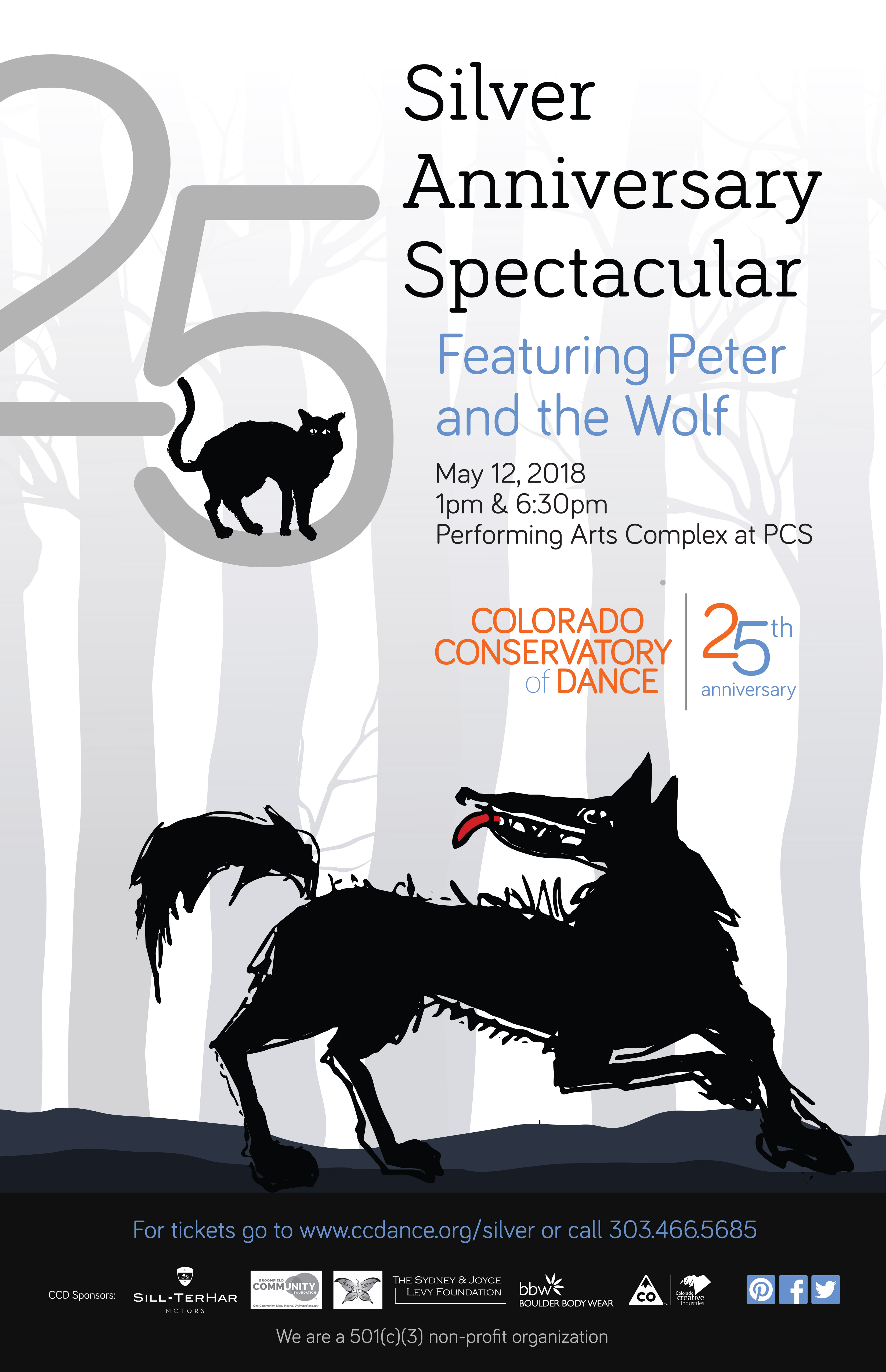 Silver Anniversary Spectacular Poster