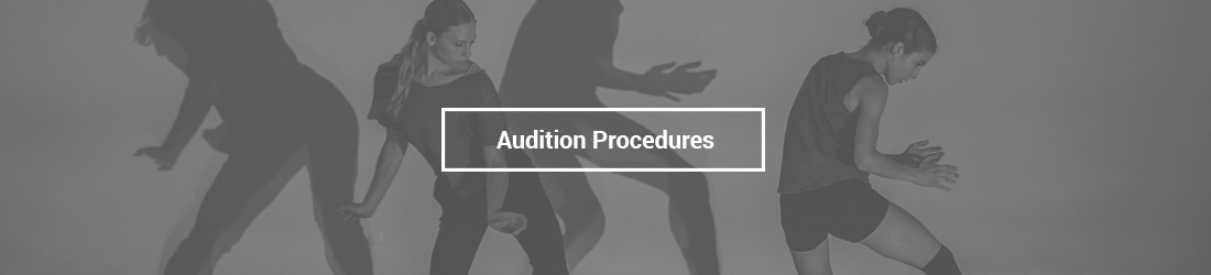 Audition Procedures