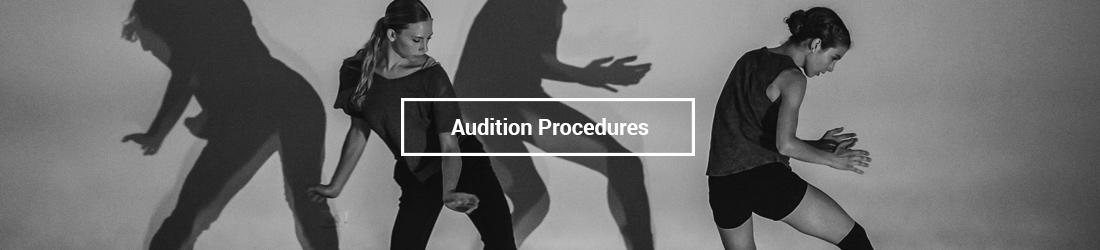 Audition Procedures